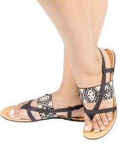 Laydeez Zigzag Detailed Sandal