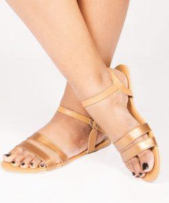 Copper Open Toe Sandals