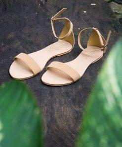 Laydeez - Open Toe Sandals in Beige