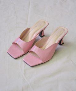 Laydeez - Sophia Spanish Heel in Pastel Pink