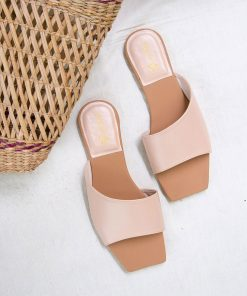 Laydeez - Square Toe Modern Sliders