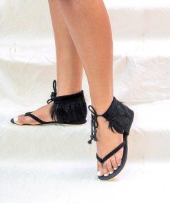 Laydeez Gypsy Feather Sandals