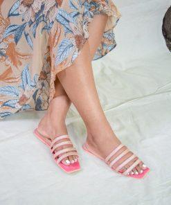 Laydeez Glitter Four Strap Sandals
