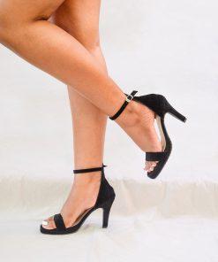 Laydeez Open Toe Platform Heels