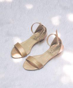 Laydeez Open Toe Low Wedge Heels