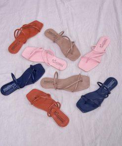 Laydeez Square Toe Rope Thongs