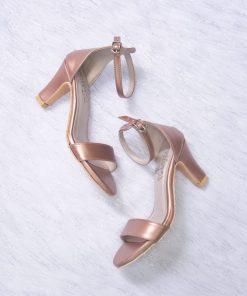 Laydeez Open Toe High Heels