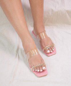Laydeez -Olivia square toe flats