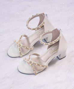 Laydeez - Gemma Heels in White