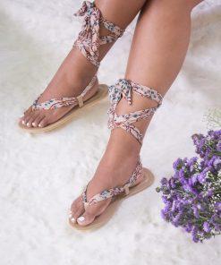 Laydeez Basic Lace Up Sandals
