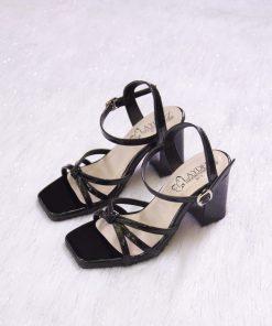 Laydeez Knot Detail Box Heels