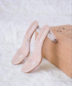 Laydeez Sarah Transparent Heels